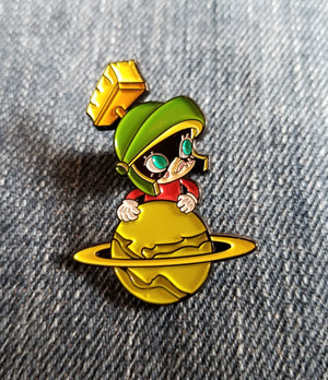 Marvin the Martian Pin