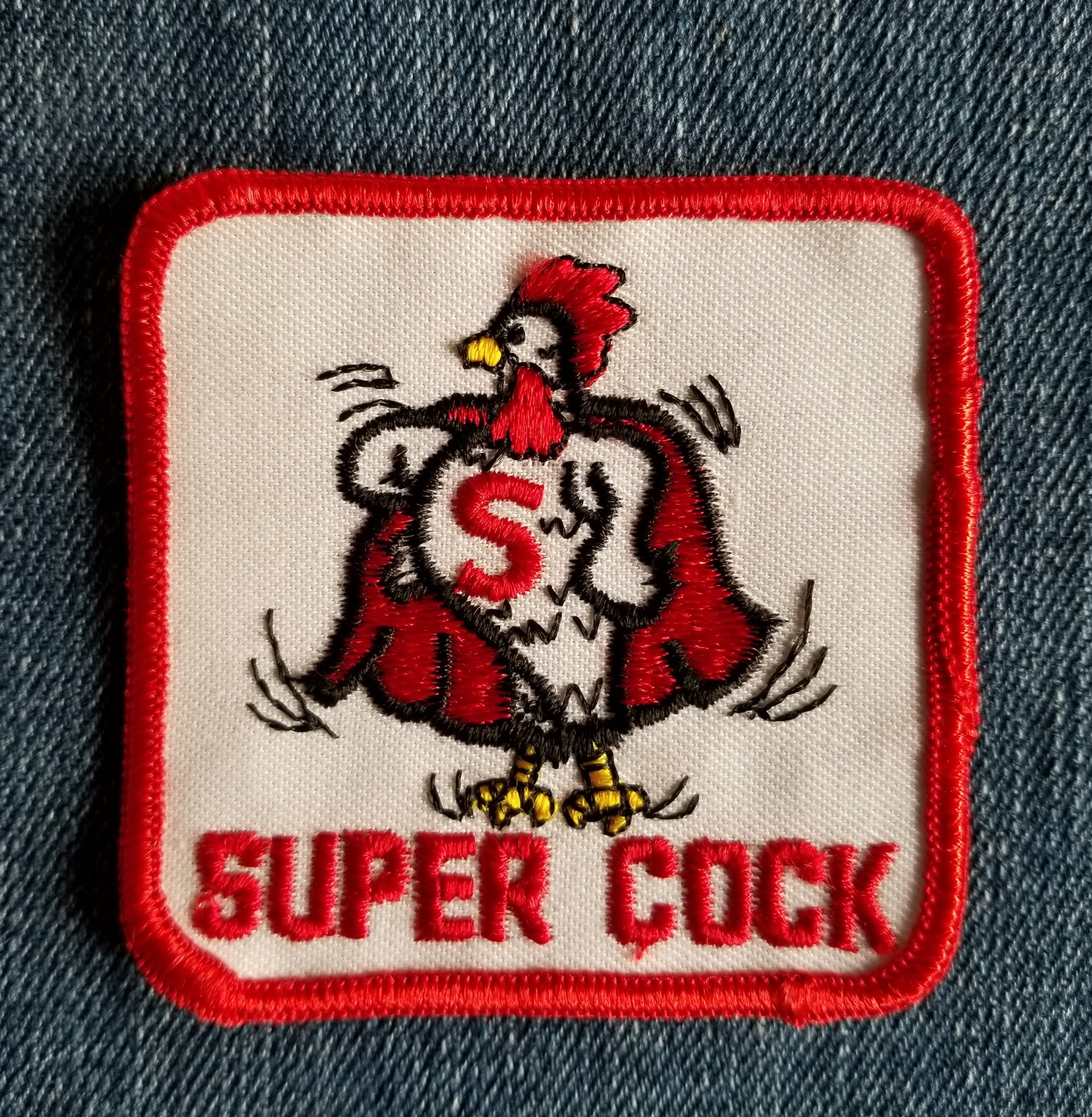 Super Cock Patch