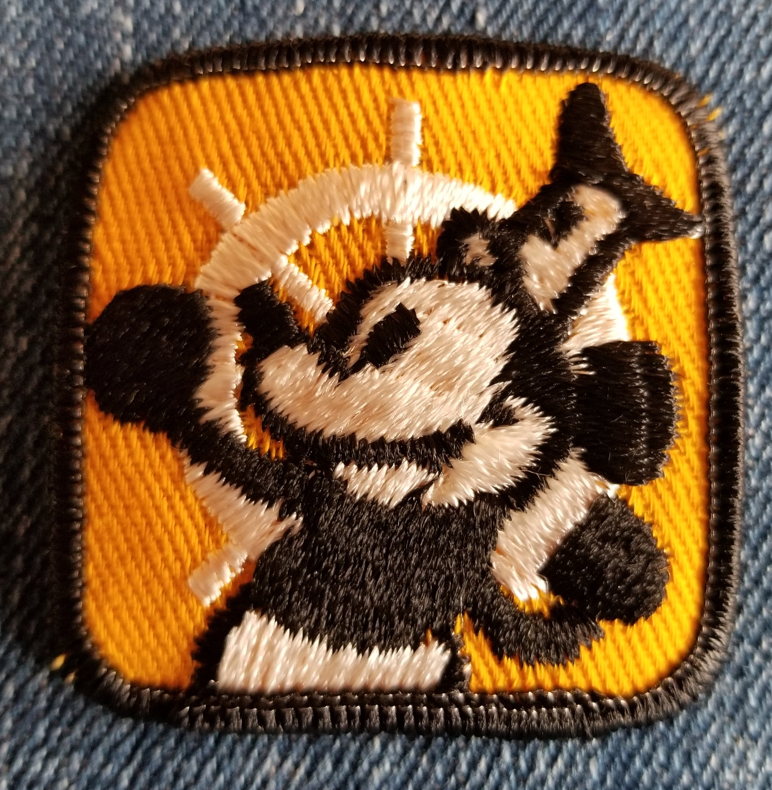 Steamboat Willie Mickey Mouse Patch