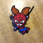 Spidergirl Pin