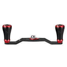 Load image into Gallery viewer, Gomexus Fishing Reel Handle for Shimano Daiwa Abu Quantum Lew's Baitcasting Carbon 95mm 105mm