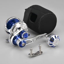 Load image into Gallery viewer, Gomexus Jigging Reel 6.3:1 Fast Retrieve Seabass Snapper Killer Conventional Reel EX300