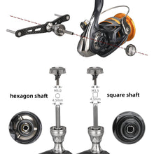 Load image into Gallery viewer, Gomexus 98mm Spinning Double Handle Carbon for Lock Type Reel LCDH