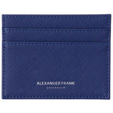 Load image into Gallery viewer, Alexander Frank Stockholm Berlin is our Blue Card Holder. Swedish Design. Color, colorful vegan