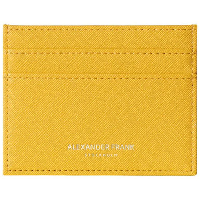Alexander Frank Yellow New York Card Holder