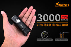 P25 | Little Fatty Ultra Bright EDC Flashlight