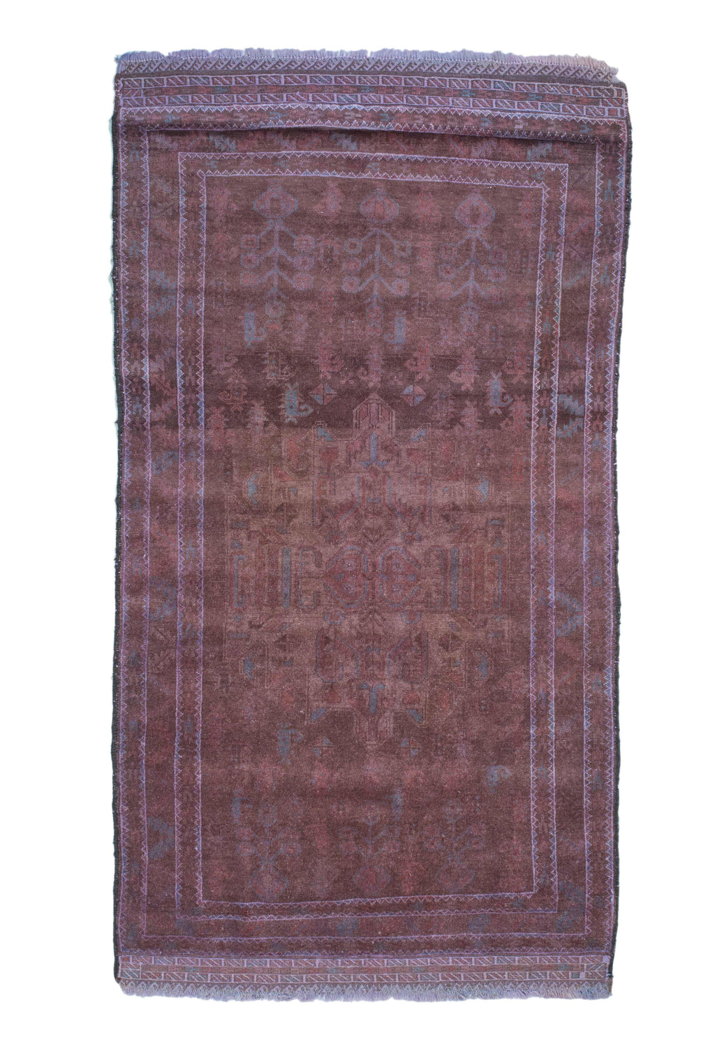 Vintage Tribal Dark Chocolate Rug