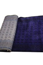 3x18 Luxury Purple Overdyed Deco Runner 2864 - west of hudson
