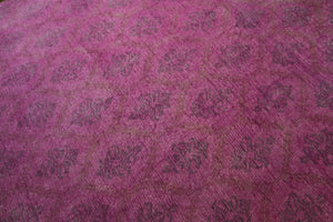 9x12 Pink Overdyed Rug Gray Faded Honey 2918 - west of hudson