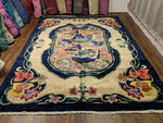 9x12 Upscale Quality Chinese Deco Soft 100% Wool Area Rug 2942 - west of hudson