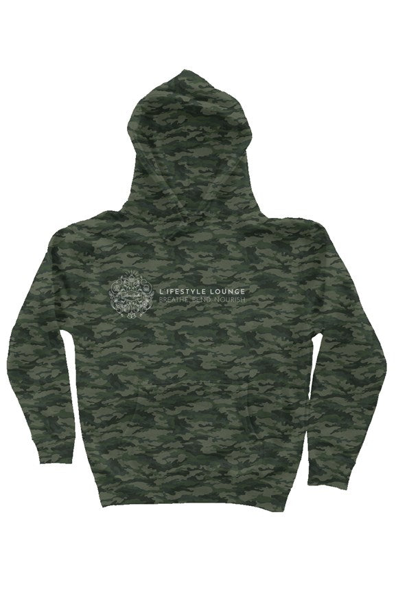 Green Camo L'ifestyle Lounge Hoodie