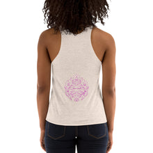 Load image into Gallery viewer, L'ifestyle Lounge Logo - Women's Tri-Blend Racerback Tank