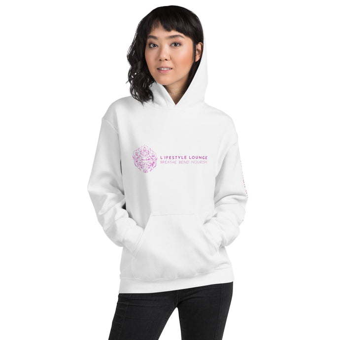 L'ifestyle Lounge Logo - Hooded Sweatshirt