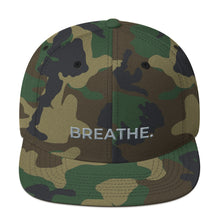 Load image into Gallery viewer, Breathe. L'ifestyle Lounge - Yupoong 6089M Wool Blend Snapback
