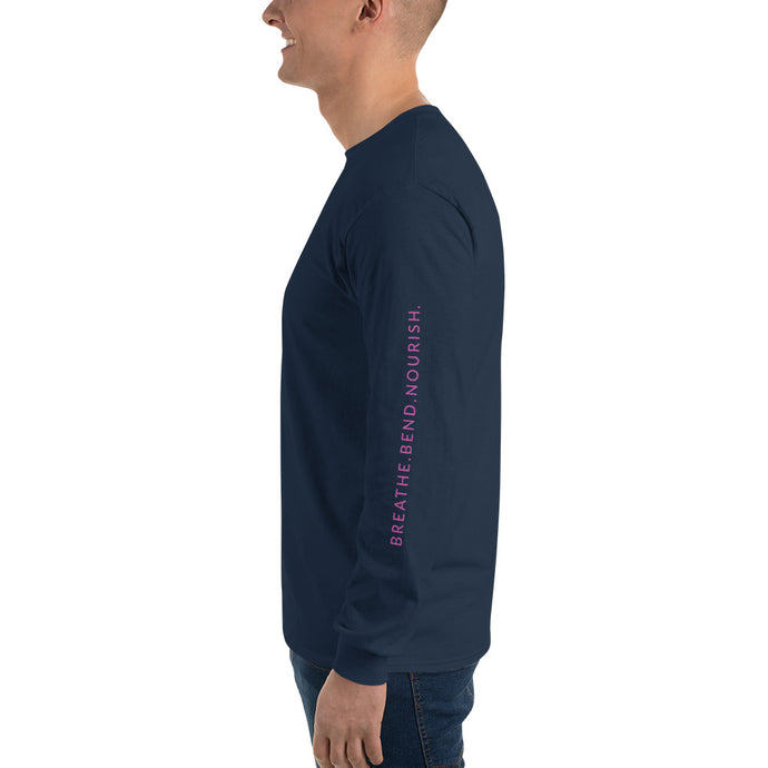 L'ifestyle Lounge Logo - Men's Long Sleeve T-Shirt