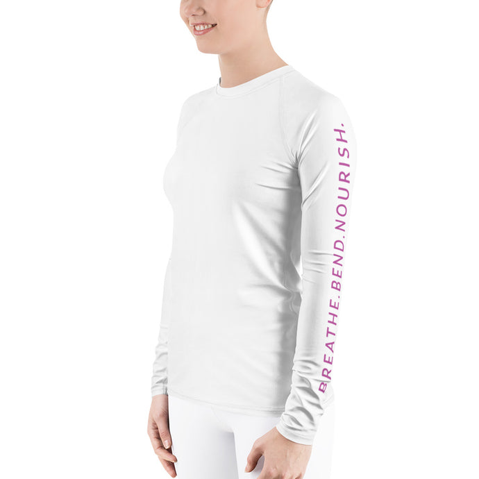 L'ifestyle Lounge Logo - Women's Rash Guard