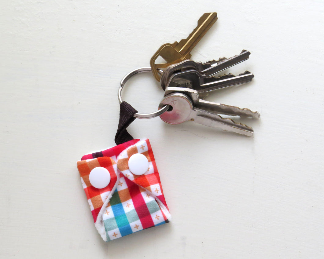 Cloth Diaper Keychain