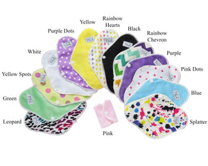 "6"" Reusable Menstrual or Incontinence Pads"