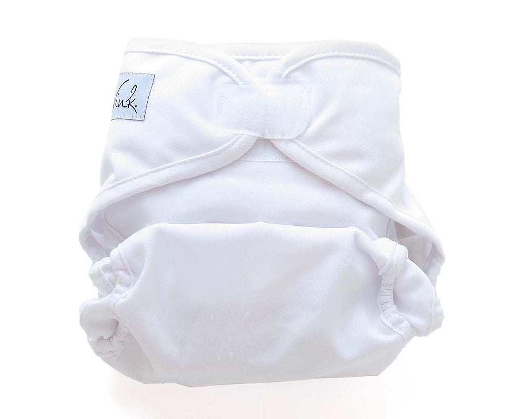 *CLEARANCE* 8-35lb Velcro Closure - Organic Bamboo Pocket Diaper - Wink Diapers