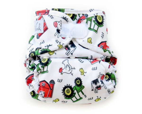 *CLEARANCE* Velcro Pocket Diaper - Wink Diapers