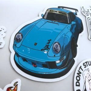 RWB Atlanta #3 - Shingen Sticker