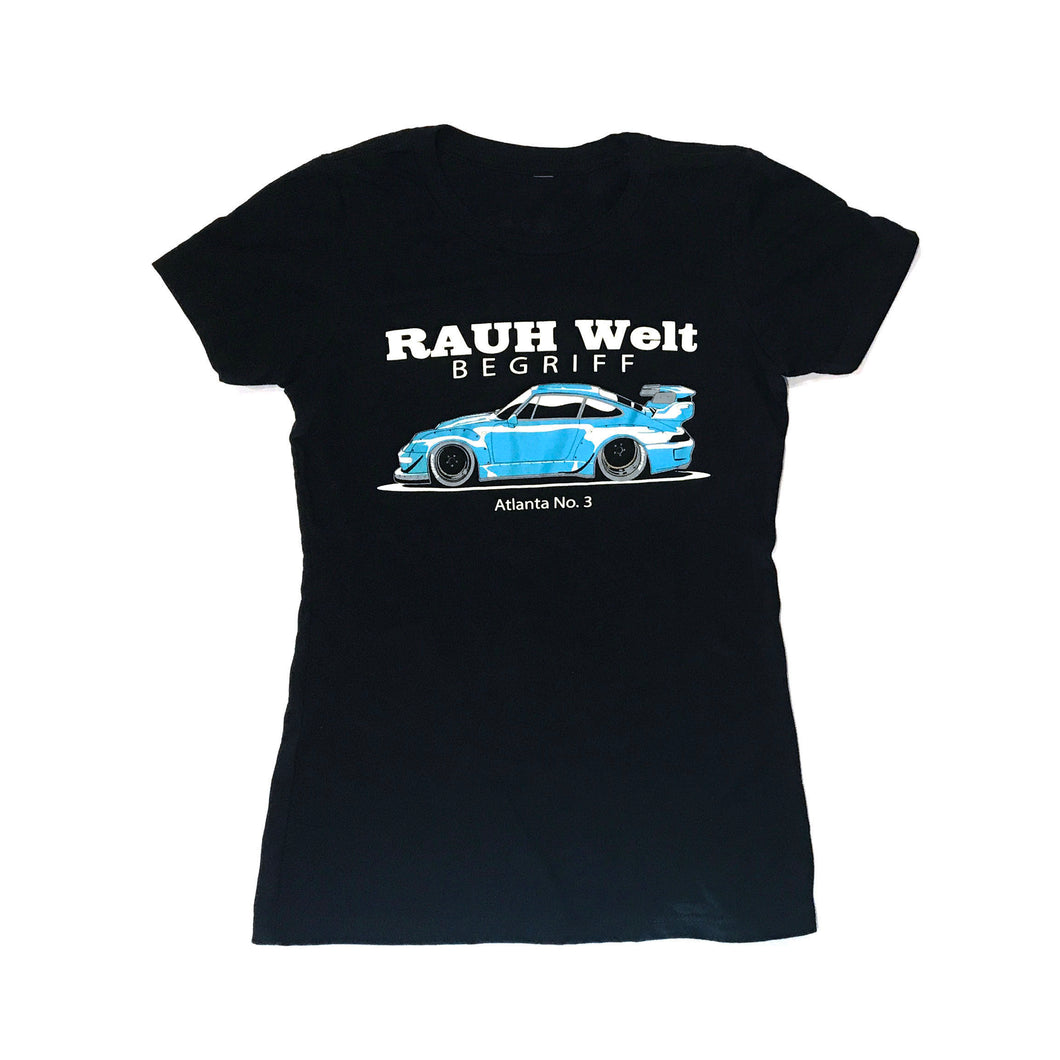 RWB Shingen T-Shirt Black, Womens