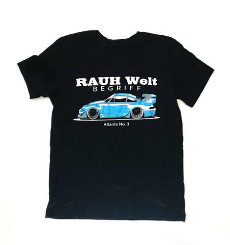 RWB Shingen T-Shirt Black, Mens