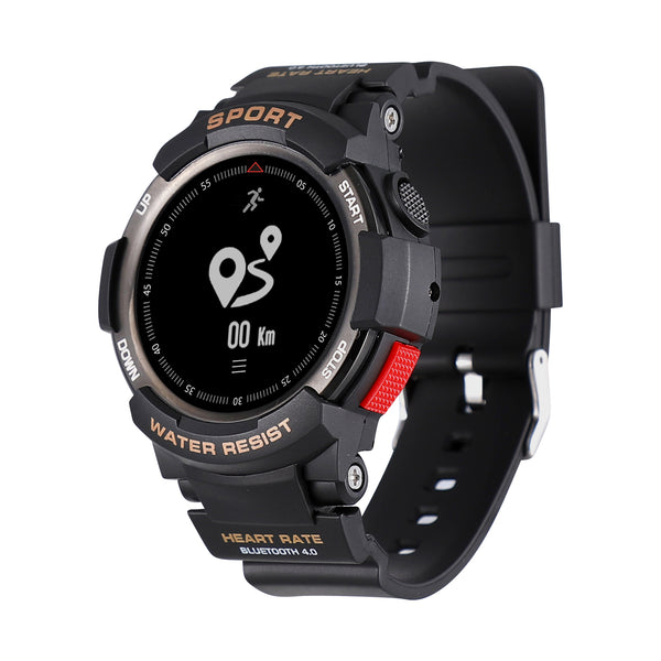 NO.1 F6 0.96inch OLED Display 50Days USE Heart Rate Monitor 50 Meters Waterproof Sport Smart Watch