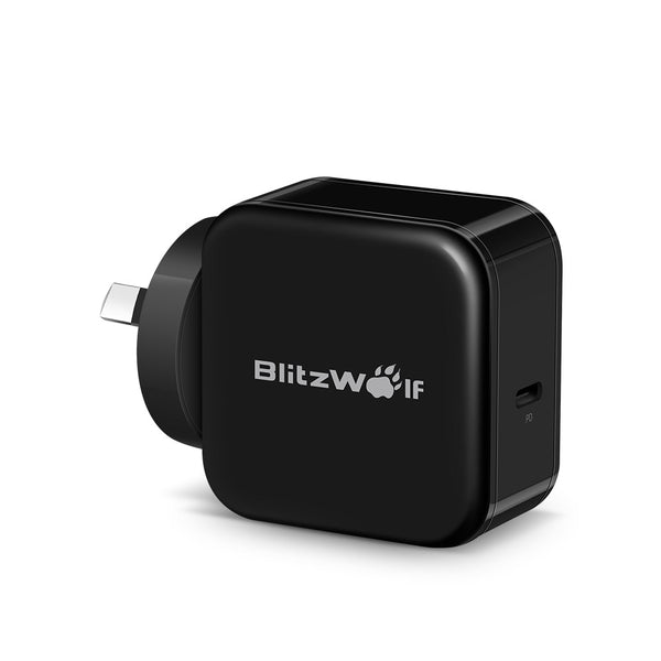 BlitzWolf® BW-S10 30W USB Type-C PD+QC3.0 Fast USB Charger AU Adapter for iPhone 8 8 Plus X