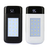 Bakeey 20000mah Solar Power Battery Bank with LCD Display and LED Flashlight