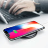 Baseus 10W Qi Wireless Charger Fast Charging Tempered Glass Panel Phone Holder For iPhone Samsung Huawei Xiaomi Oppo Vivo Smart Phone