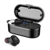 [bluetooth 5.0] Wireless Earphone TWS HIFI IPX8 Waterproof Noise Cancelling Sport With Charging Case
