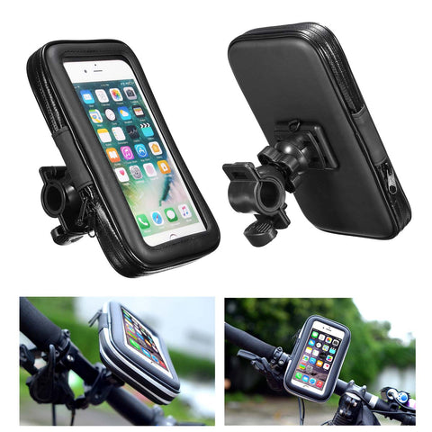 Universal Waterproof Adjustable Motorcycle Bike Bicycle Handlebar Mount Holder Bag for Smartphones