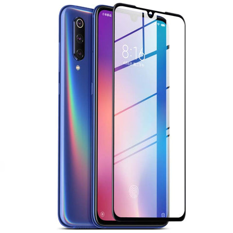 BAKEEY Anti-Explosion Full Cover Full Gule Tempered Glass Screen Protector for Xiaomi Mi9 / Mi 9 Transparent Edition