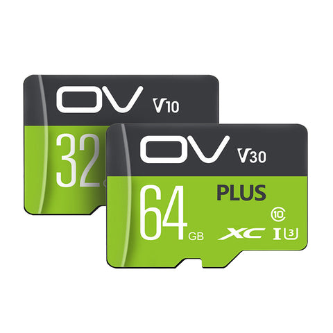 OV PLUS UHS-I U1 U3 32GB 64GB 128GB 256GB Class 10 High Speed Data Storage TF Card Flash Memory Card