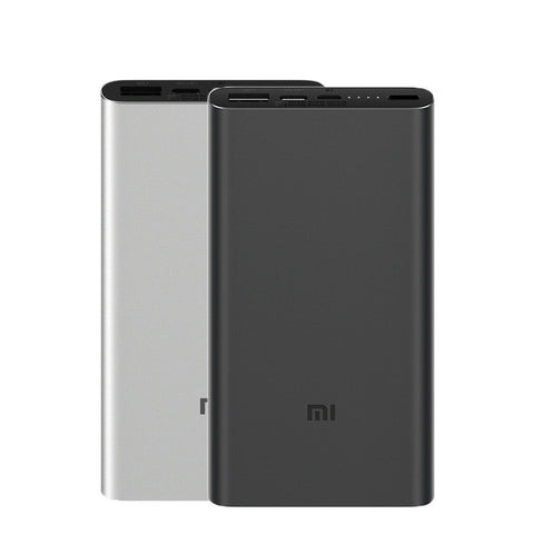 Original 2019 Xiaomi 10000mAh Power Bank 3 Dual Input Output 18W Two-way QC3.0 Quick Charge for Mobile Phone