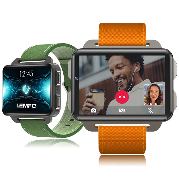 LEMFO LEM4 PRO 2.2 Inch Android 5.1 Watch Phone MTK6580 1G+16G 1200 Mah 3G Smart Watch