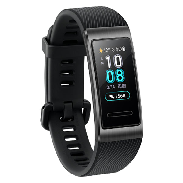 Original Huawei Band 3 Pro AMOLED Color Display GPS-built 5ATM Heart Rate Metal Frame Smart Watch Band