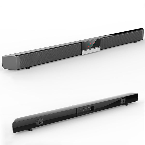 SR100 40W 3D HiFi bluetooth Soundbar 4 Drivers Remote Control Stereo Home Speaker