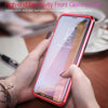 Luphie 360º Full Body Tempered Glass Metal Magnetic Adsorption Case For Samsung Galaxy Note 9/S9/S9 Plus