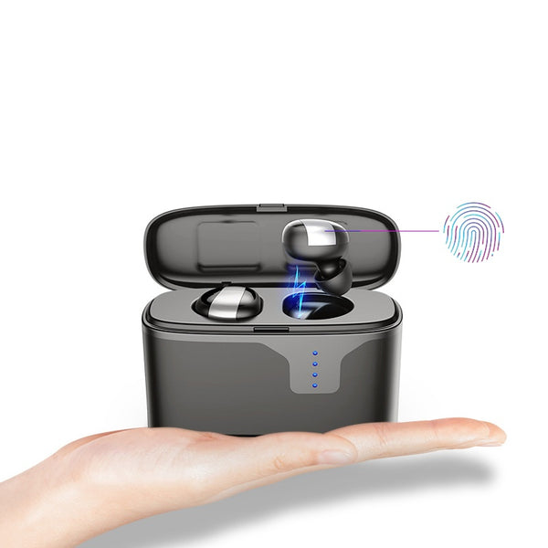 [bluetooth 5.0] Bakeey TWS Wireless Earphone IPX7 Waterproof CVC6.0 Noise Cancelling Headphone with 2200mAh Charging Box Power Bank