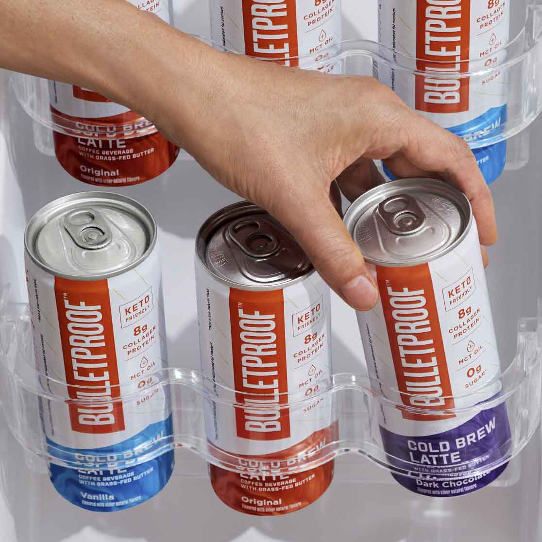 Bulletproof Variety Pack ready to drink cold brew