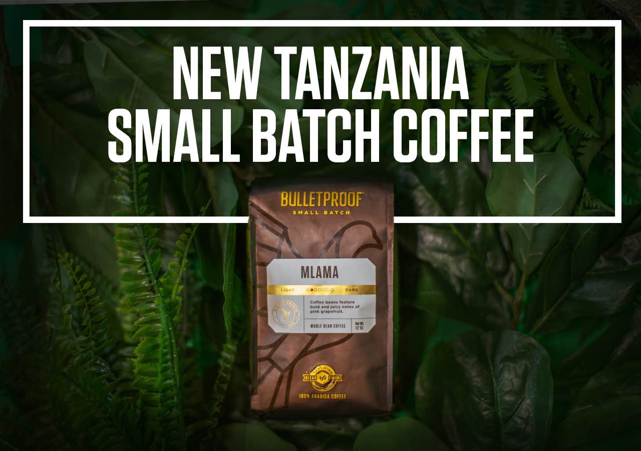 Bulletproof Tanzania Small Batch