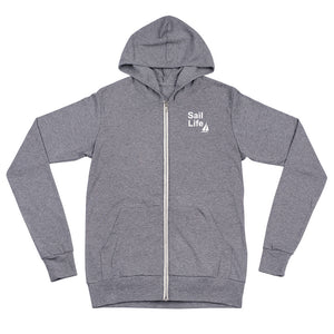 Sail Life Lightweight Zip up Hoodie