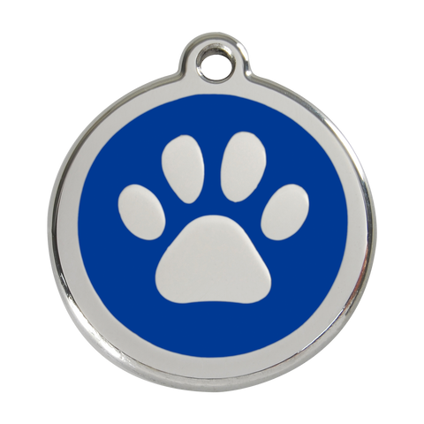 Red Dingo Dog Tags