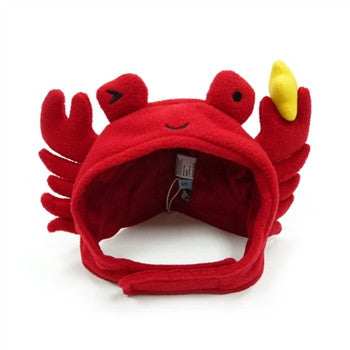 Crab Hat for Dogs