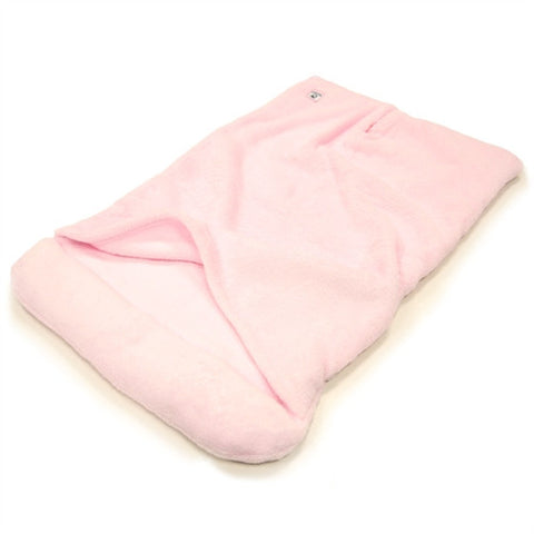 Blanket Bed Super Soft Dog Bed - Pink