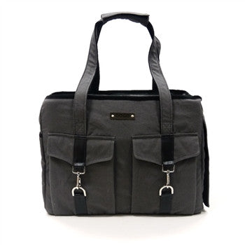 Dogo Buckle Tote - Charcoal