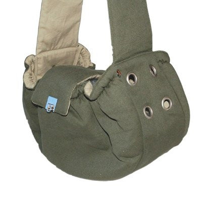 Messenger Dog Bag - Green