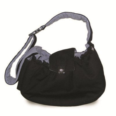 Messenger Dog Bag - Black